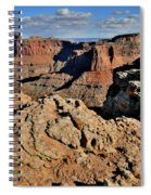 Shafer Canyon In Canyonlands Np Spiral Notebook