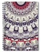 Shape Of The Sun Spiral Notebook