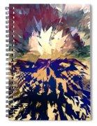 Shattered Spiral Notebook