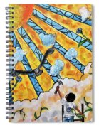 Shattered Skies Spiral Notebook