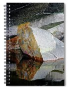 Shawanaga Rock And Reflections I Spiral Notebook