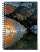 Shawanaga Rock And Reflections Xi Spiral Notebook