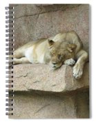 She Lion Spiral Notebook