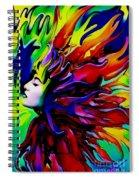 She Transcends Spiral Notebook