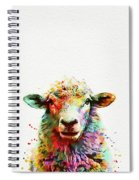 Sheep Portrait Spiral Notebook
