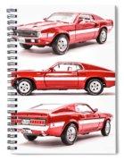 Shelby Gt500  Spiral Notebook