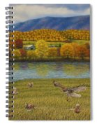 Shenandoah Valley Hawk Spiral Notebook