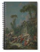 Shepherd S Idyll  Spiral Notebook