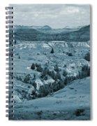 Shifting Shadows Spiral Notebook