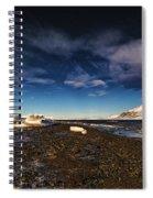 Shoreline With Driftice Spiral Notebook