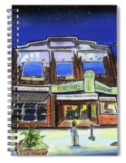 Show Time-acadia Cinema Spiral Notebook