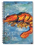 Shrimp Spiral Notebook
