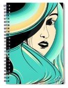 Shy Girl Spiral Notebook