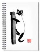 Siamese 03 Spiral Notebook