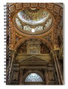 Side Dome Spiral Notebook