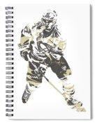 Sidney Crosby Pittsburgh Penguins Pixel Art 23 Spiral Notebook
