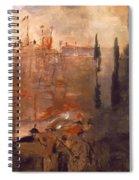 Siege Of A Castle 1910 Spiral Notebook