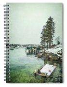 Silent Season Spiral Notebook