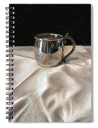 Silver Cup Spiral Notebook