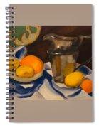 Silver Pitcher  Spiral Notebook