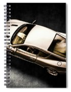 Silver Styling Spiral Notebook
