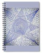 Silverstare Spiral Notebook