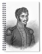 Simon Bolivar Venezuelan Statesman, Soldier, And Revolutionary Leader Spiral Notebook