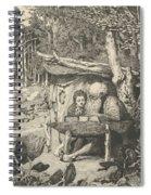 Simplici Schreibstunde, From The Series Intermezzi Spiral Notebook