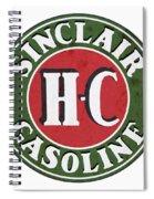 Sinclair Gasoline Spiral Notebook