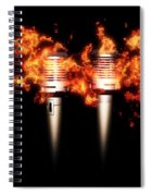 Singeing Stage Show Spiral Notebook