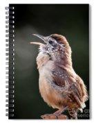 Singing Wren Spiral Notebook