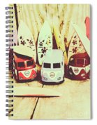 Sixties Dreaming Spiral Notebook