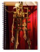 Skeleton  In Torturedevise Spiral Notebook