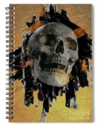 Skull - 9 Spiral Notebook