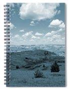 Sky And Prairie Dance Spiral Notebook