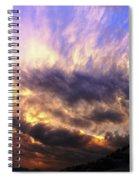 Sky Burst Spiral Notebook