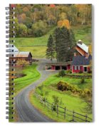 Sleepy Hollow Farm Spiral Notebook