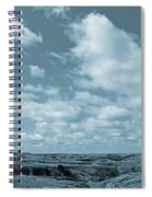 Slope County And Sky Spiral Notebook