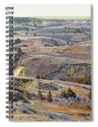 Slope County Badlands Reverie Spiral Notebook