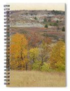 Slope County September Splendor Spiral Notebook
