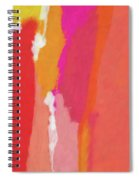 Slow Burn- Abstract Art By Linda Woods Spiral Notebook