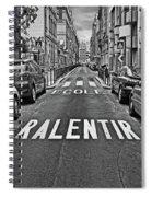 Slow - School Spiral Notebook