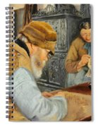Smallholders In The Village Of Ring Spiral Notebook