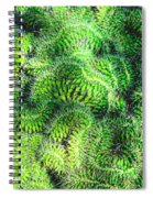 Snake Cactus Spiral Notebook