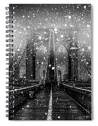 Snow Collection Set 04 Spiral Notebook