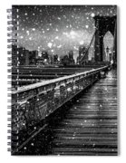 Snow Collection Set 05 Spiral Notebook