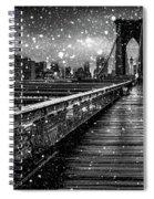 Snow Collection Set 05 Spiral Notebook