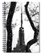 Snow Collection Set 07 Spiral Notebook