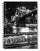 Snow Collection Set 09 Spiral Notebook