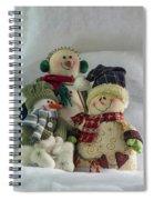 Snow Folk Spiral Notebook